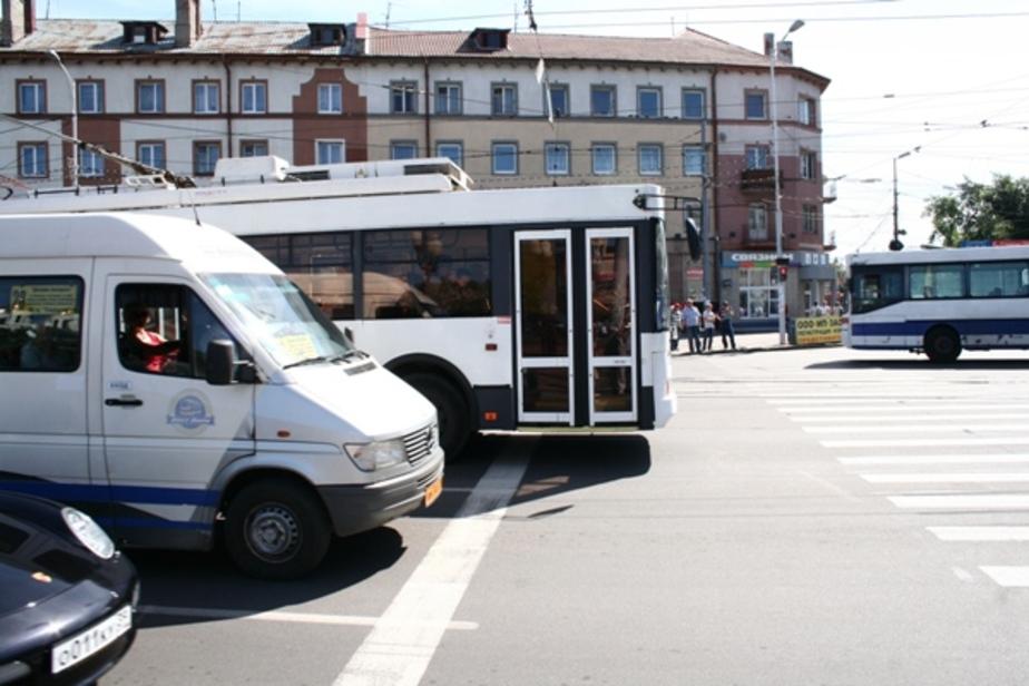 В Калининграде сократят количество маршруток к ЧМ-18 - Новости Калининграда