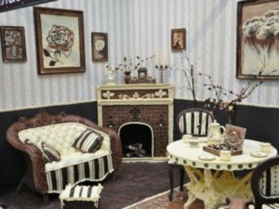 В Калининграде построили шоколадную комнату