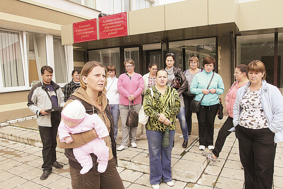 «Нас хотят из Светлогорска переселить в поле!» - Новости Калининграда
