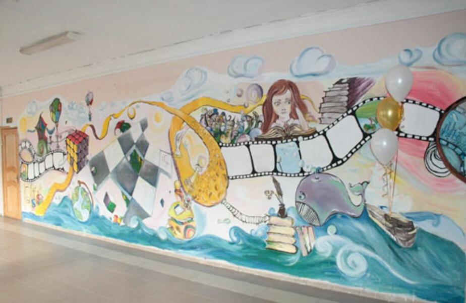 На стенах – граффити!