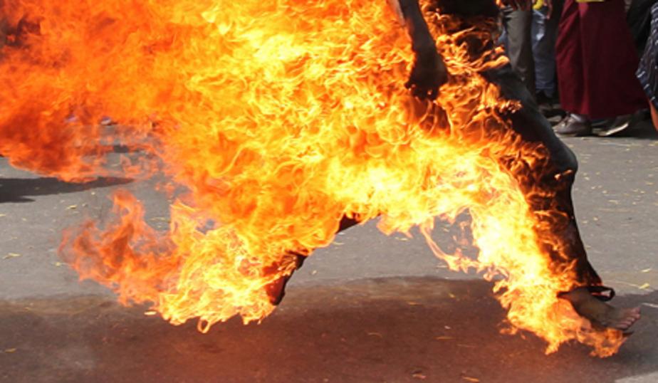 В Калининграде 56-летний мужчина пытался совершить самосожжение - Новости Калининграда