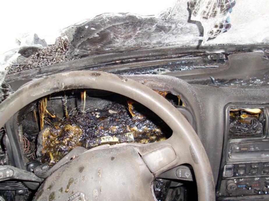 "В Калининграде за сутки сгорели три автомобиля ""Мицубиси"" - Новости Калининграда"