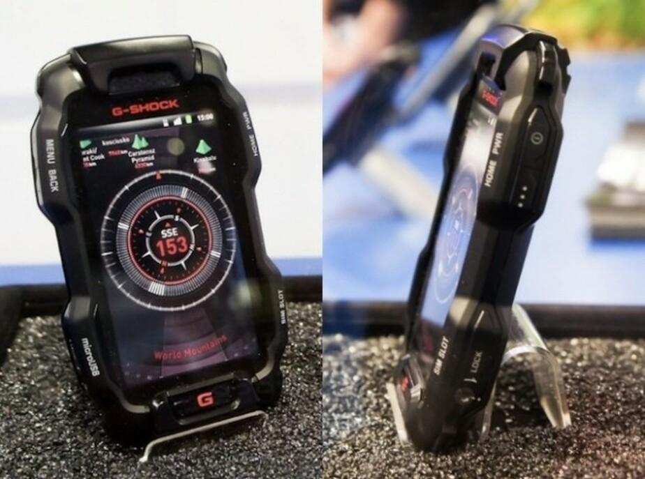 Casio выпустит бессмертный смартфон G-Shock - Новости Калининграда