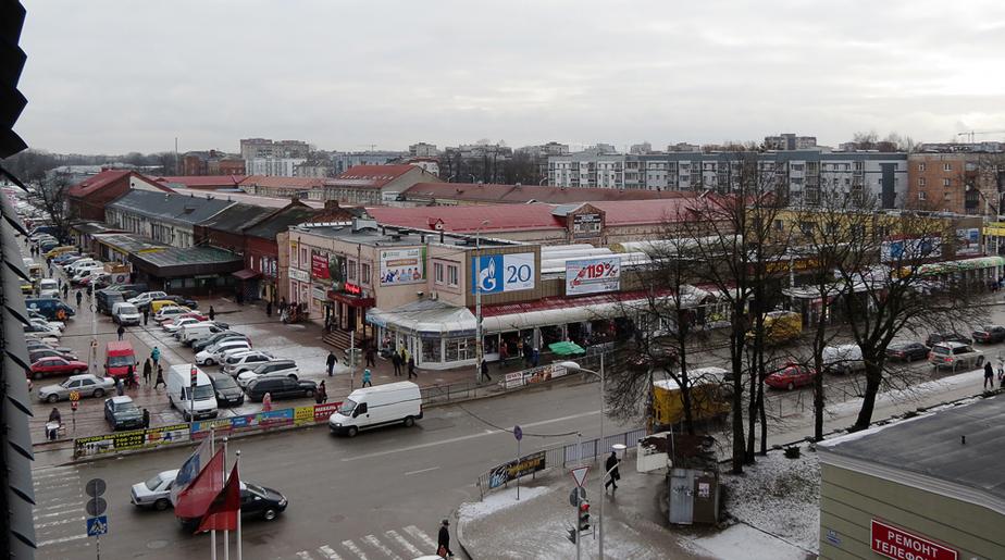 Рекламу на фасаде Центрального рынка сделают однообразной - Новости Калининграда