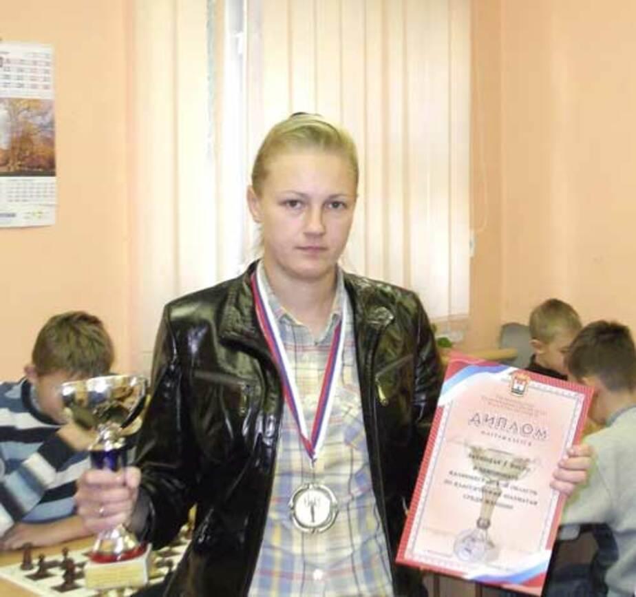 Шахматной королевой Калининградской области стала Татьяна Крестьянова - Новости Калининграда