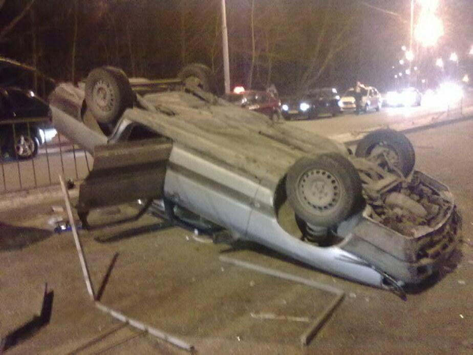 В Калининграде 20-летний водитель получил права- напился и попал в ДТП- погибла молодая девушка - Новости Калининграда