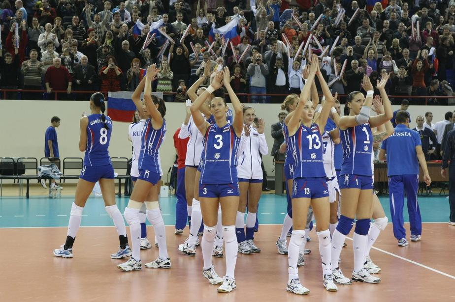Российские волейболистки победили в финале румынскую сборную