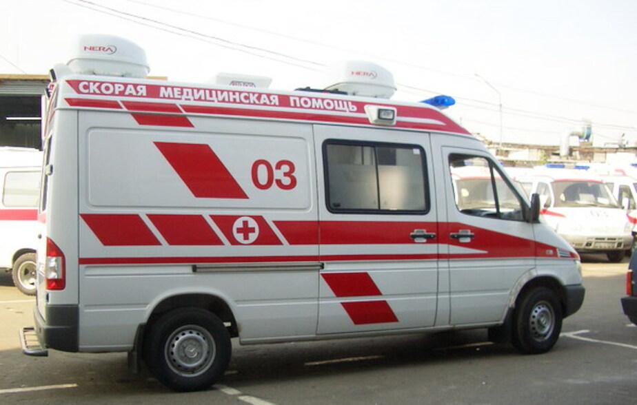 """В Черняховске -""""Вольво-"""" сбил женщину на -""""зебре-"""""""