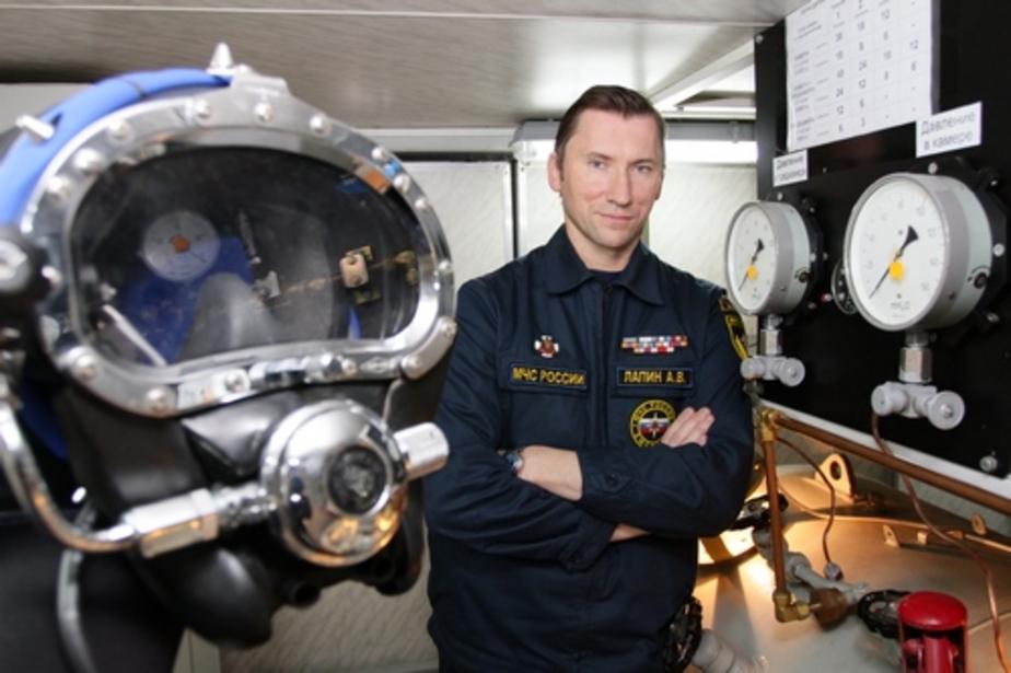 Калининградец стал лучшим водолазом МЧС 2011 года