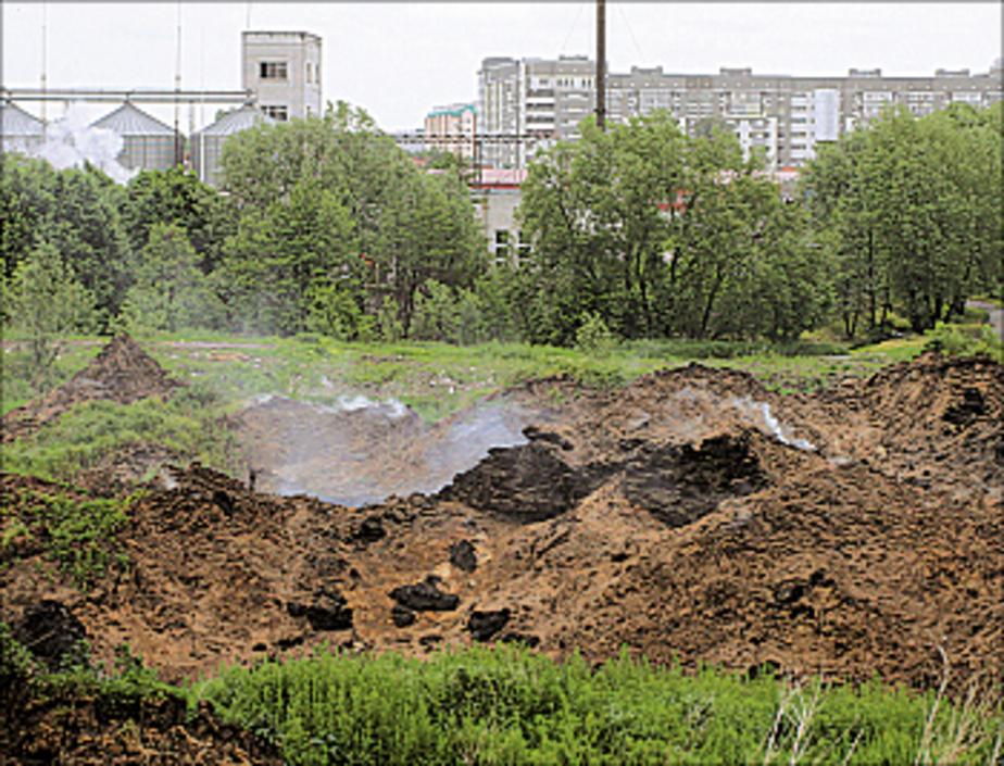 Тлеющий короотвал на ул- Ялтинской обещают ликвидировать к ЧМ-2018 - Новости Калининграда