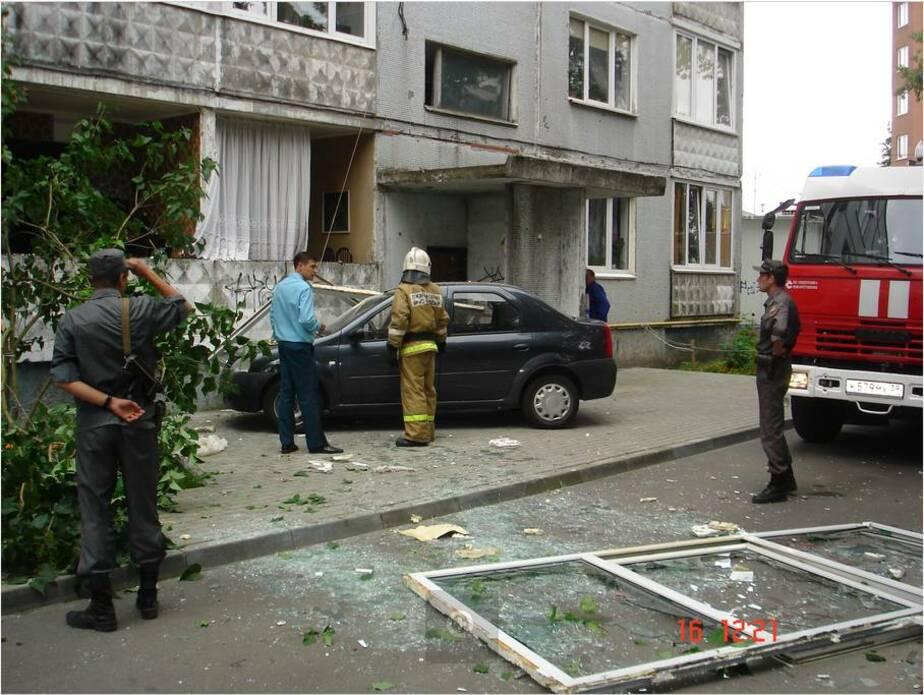 На ул- Яналова в доме взорвался газовый баллон- есть пострадавший - Новости Калининграда
