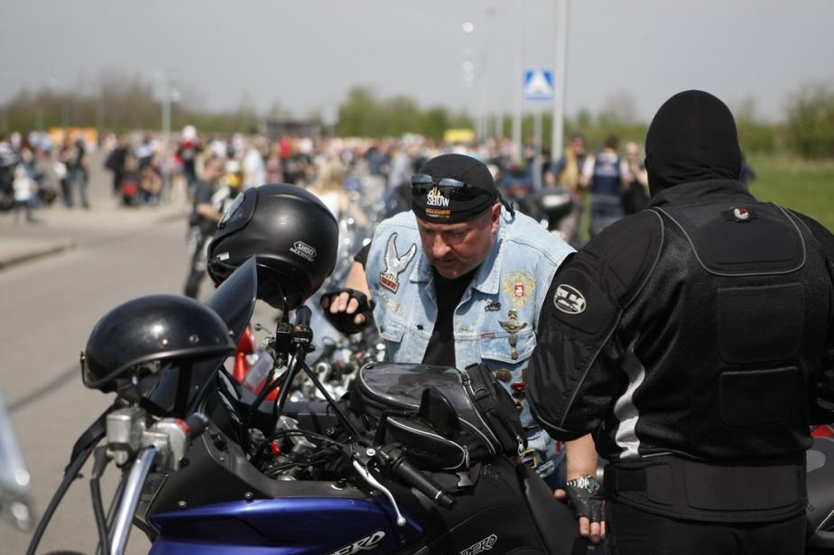 Калининградские байкеры открыли сезон - Новости Калининграда
