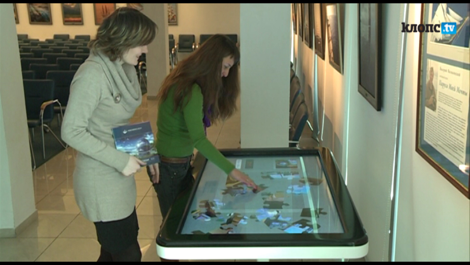 """В Музее Мирового океана появился """"гигантский iPad"""" - Новости Калининграда"""