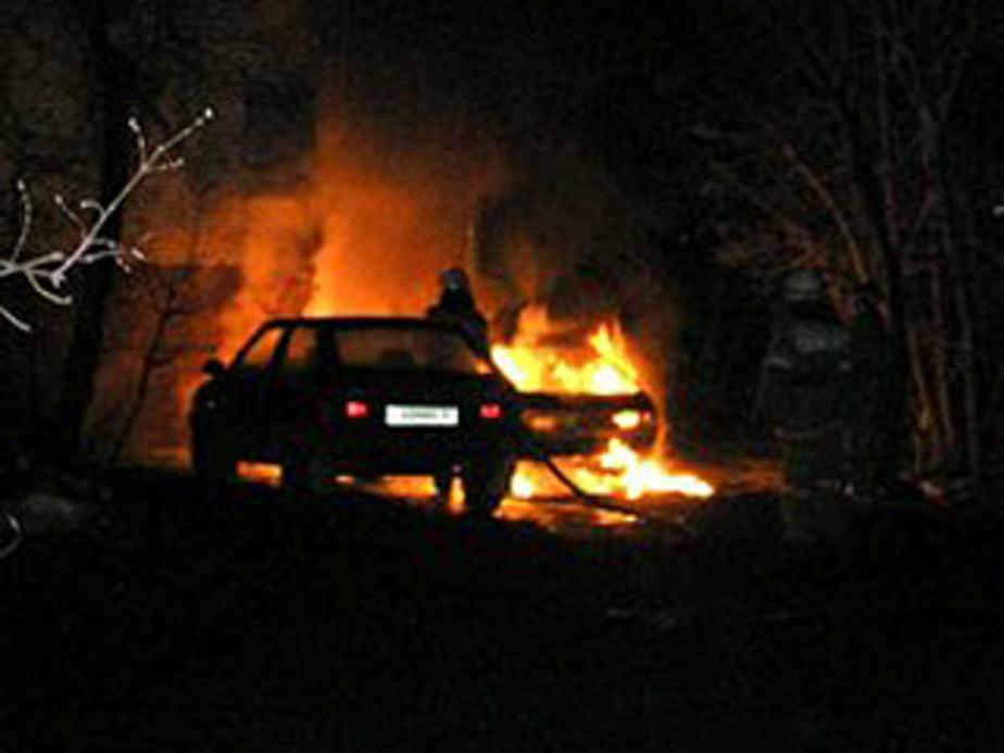 МЧС- В регионе участились случаи возгораний машин - Новости Калининграда