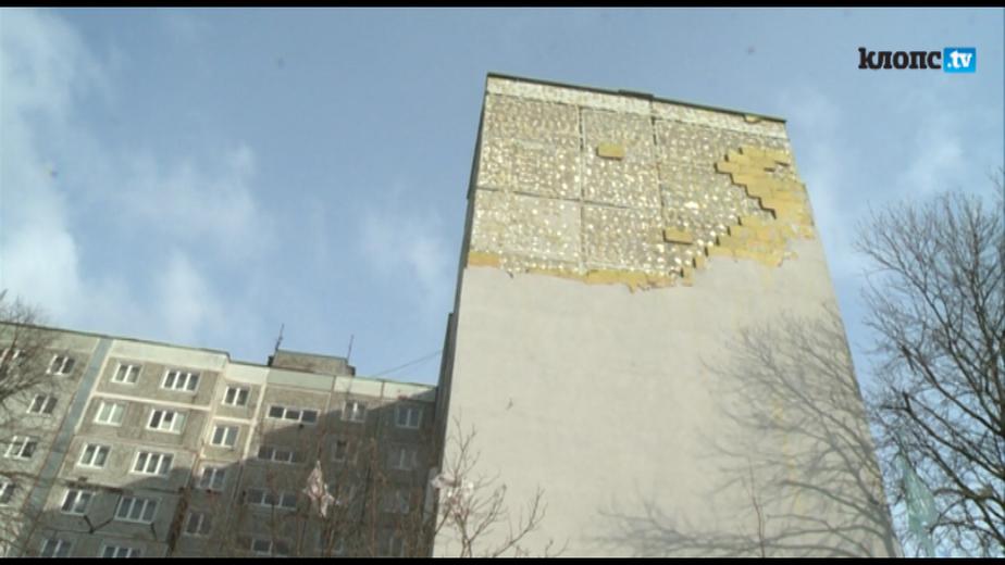 Жители многоэтажки полмесяца живут среди обломков рухнувшей теплоизоляции - Новости Калининграда