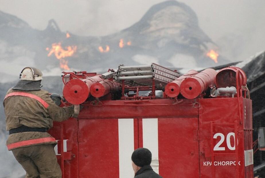 При пожаре на ул- Гагарина в Немане пострадал пенсионер - Новости Калининграда