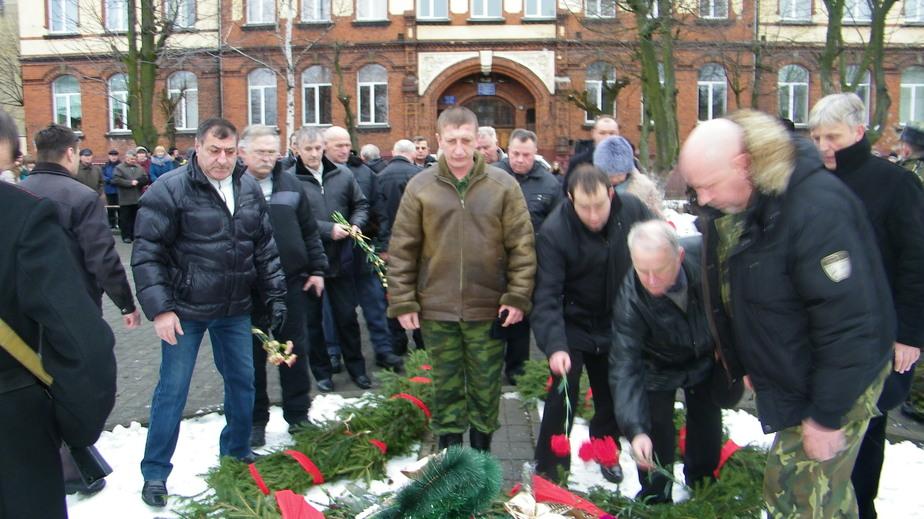 В Черняховске вспоминали войнов-интернационалистов - Новости Калининграда