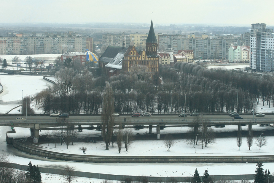 На следующей неделе в Калининградскую область придет зима - Новости Калининграда