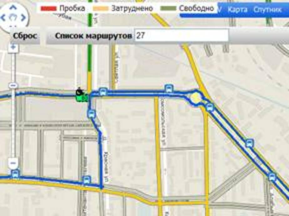 За автобусами в Калининграде можно следить онлайн на Клопс-Ru - Новости Калининграда
