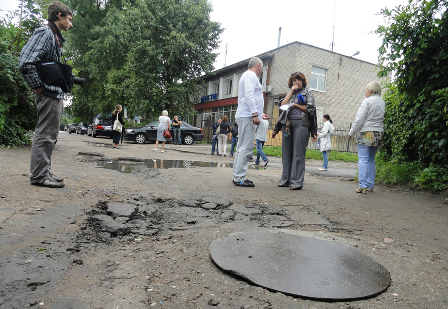В Калининграде при капремонте ул- Вагнера украли более 600 тыс- руб-