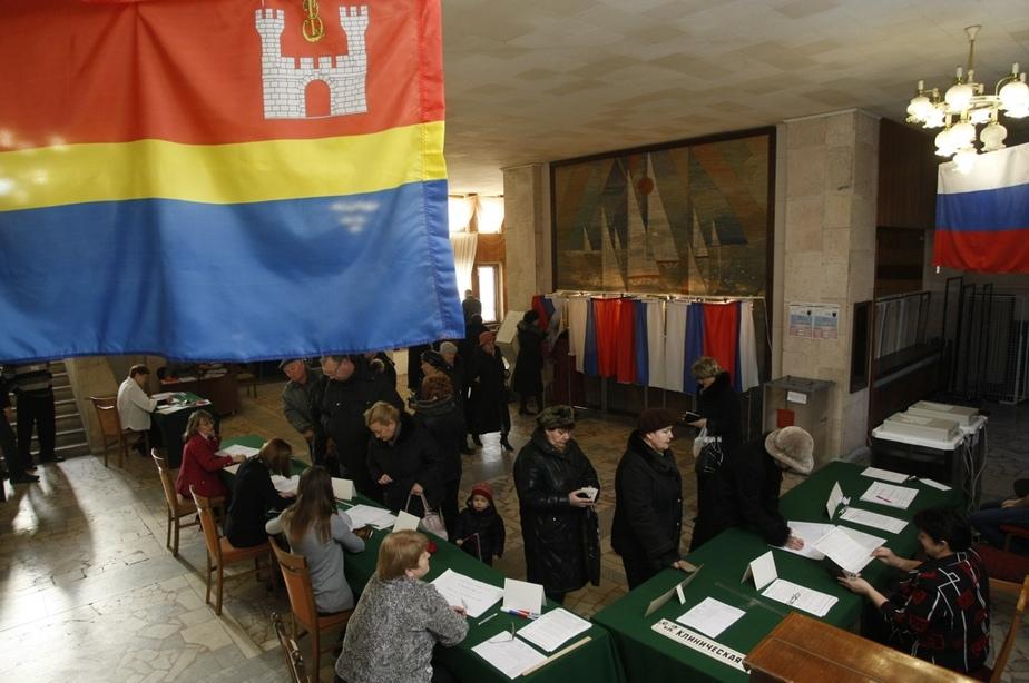 Каждый пятый калининградец к полудню уже проголосовал - Новости Калининграда