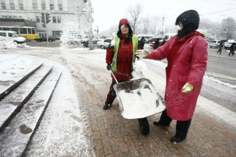 """Директор МУП """"Чистота""""- Начнем убирать улицы через 6 часов после снегопада - Новости Калининграда"""