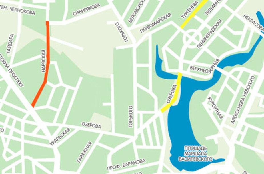 На каких дорогах Калининграда изменится движение - Новости Калининграда