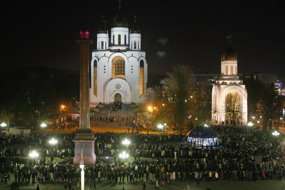 Тысячи калининградцев пришли поклониться Поясу Пресвятой Богородицы - Новости Калининграда