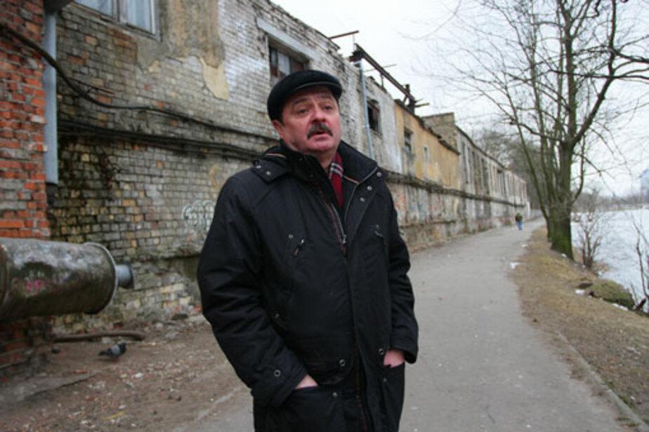 До сентября опасную стену в центре города приведут в порядок - Новости Калининграда