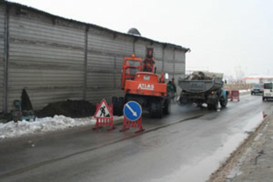 В Калининграде на Правой Набережной загорелся резервуар с топливом - Новости Калининграда