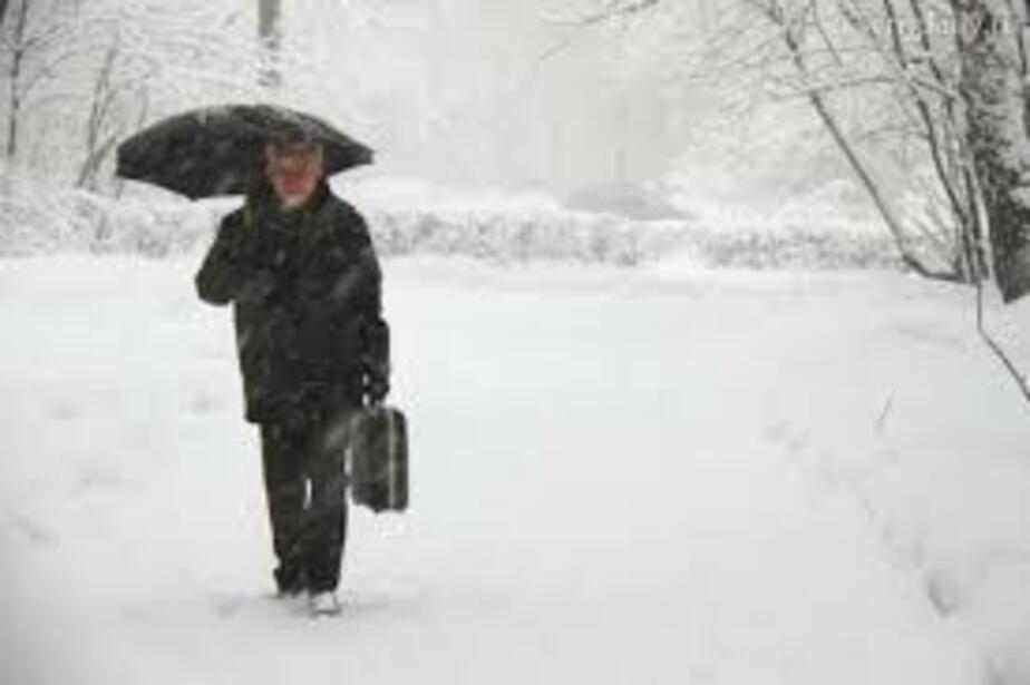 В Калининграде снегопады с дождем продлятся до 14 апреля - Новости Калининграда