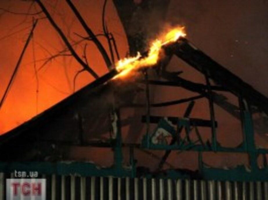 В Гусеве из-за поджога едва не сгорела дача - Новости Калининграда