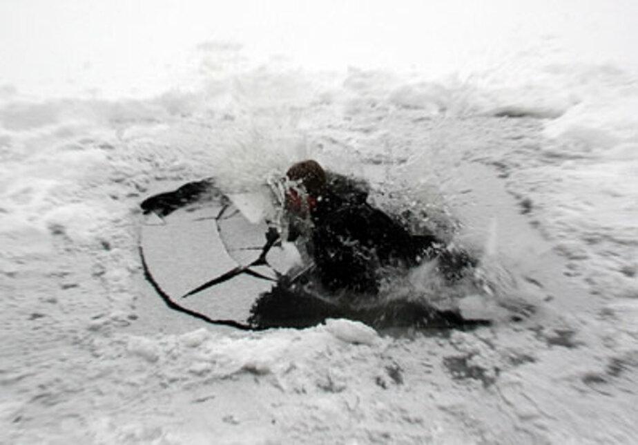 В Калининграде пенсионерка провалилась под лед - Новости Калининграда