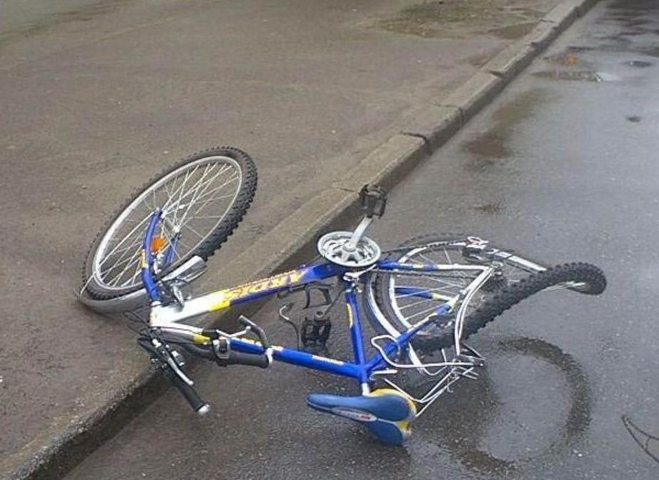 На ул- Портовой 22-летний водитель БМВ сбил велосипедиста - Новости Калининграда