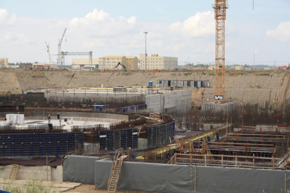 В октябре на строительстве БАЭС работали 1300 человек- на площадке есть дефицит рабочей силы - Новости Калининграда
