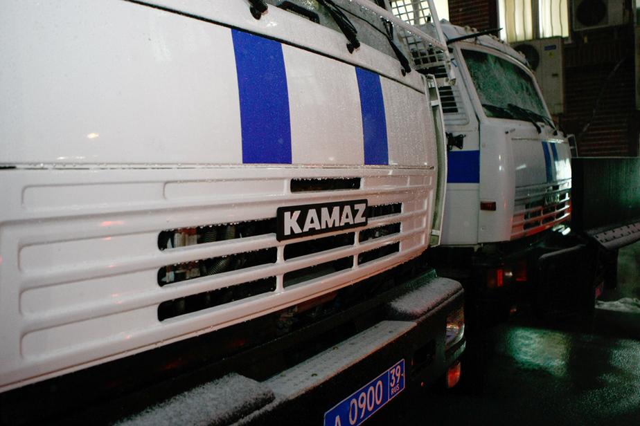 Калининградская полиция получила водомет для разгона несанкционированных демонстраций