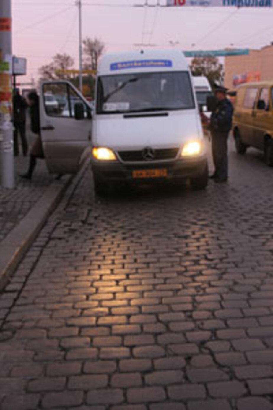 В Калининграде экипаж ДПС устроил погоню за переполненной маршруткой - Новости Калининграда
