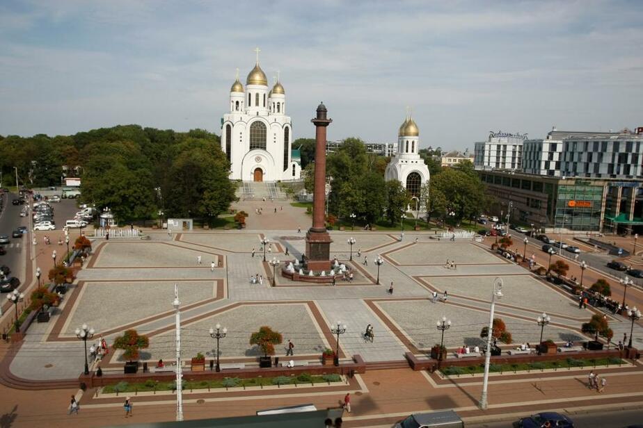 Калининградцы пожаловались на плохое состояние площади Победы - Новости Калининграда