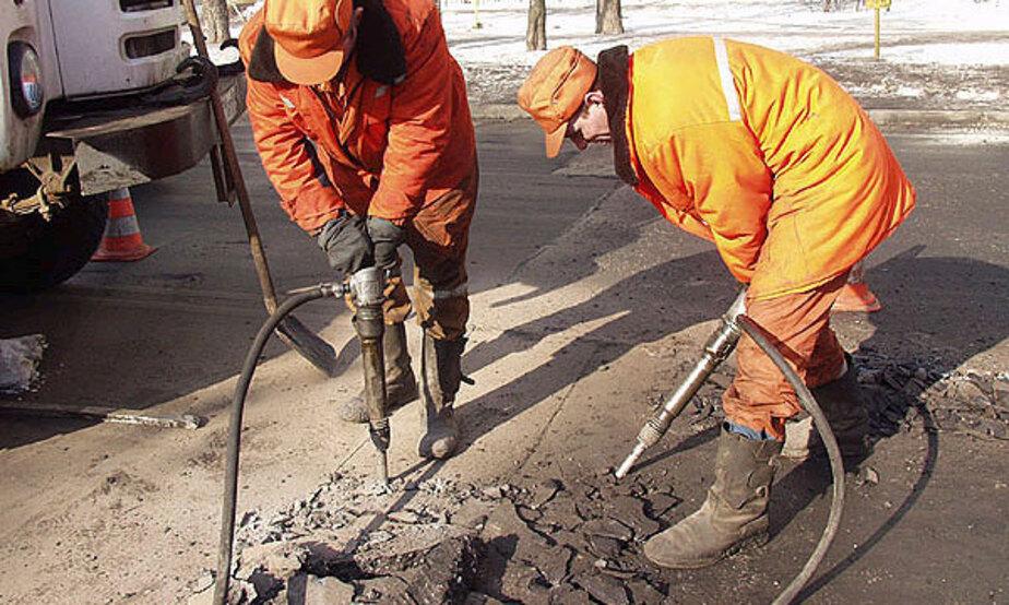 """За """"такой"""" ремонт дорог подрядчики в Калининграде получили претензий на 205 млн- - Новости Калининграда"""