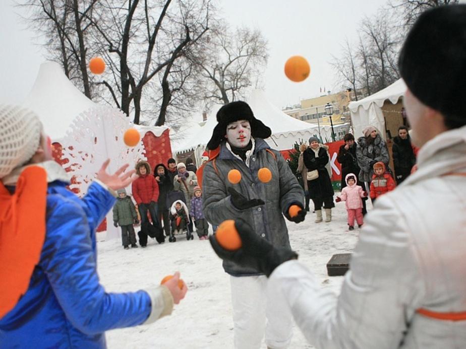 В Центральном парке начинаются рождественские гулянья - Новости Калининграда