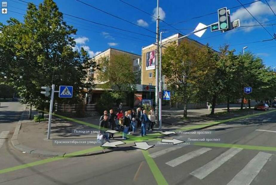 """На пешеходном переходе возле """"Атлантики"""" изменится схема движения - Новости Калининграда"""