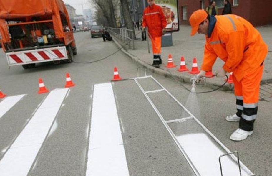 В этом году дорожной разметки хватит только на треть улиц - Новости Калининграда