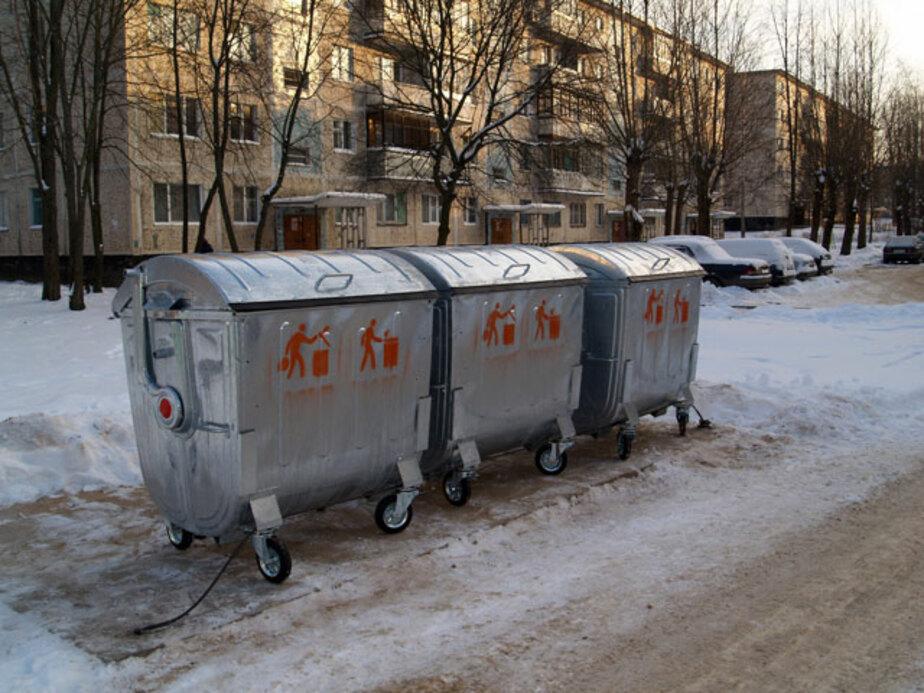 В Калининграде в мусорном контейнере обнаружено тело новорожденного