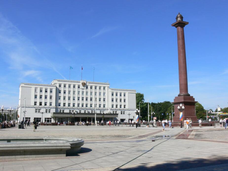 К майским праздникам площадь Победы приведут в порядок - Новости Калининграда