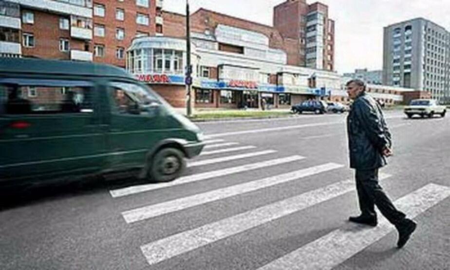 Каждое пятое ДТП в регионе происходит из-за пешеходов