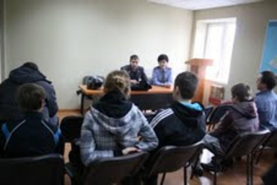 В Балтийске для подростков провели урок мужества в полиции - Новости Калининграда