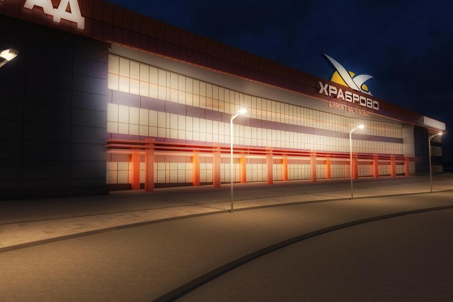 """Во вторник начались работы по реконструкции аэропорта """"Храброво"""" - Новости Калининграда"""