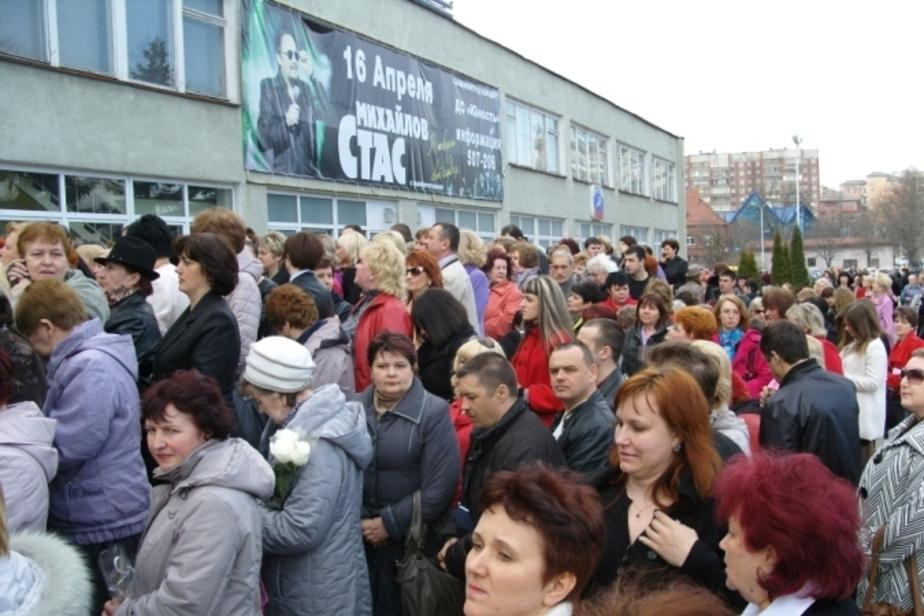 Женщин на концерт Стаса Михайлова в Калининграде привозили автобусами - Новости Калининграда