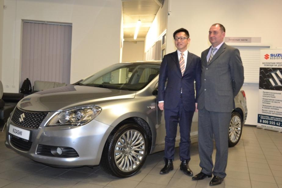 В Калининграде состоялось официальное открытие автосалона Suzuki