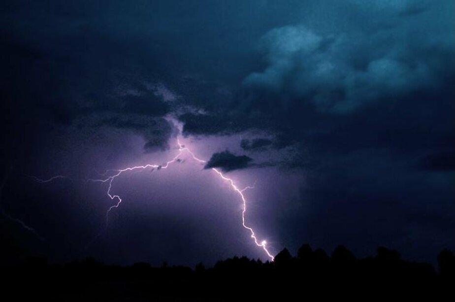 Вечером в пятницу в Калининграде ожидаются ливневые дожди- грозы и град - Новости Калининграда